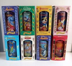 Complete Set Vintage 1994 Disney Cups Perfect Condition In Boxes