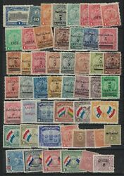 Mexico Brazil Paraguay 1900 1960s Collection Of 40 Plus Mint Including