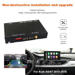 Wireless Usb Dongle For Audi A6 A7 2010-2018 Ios Apple Android Carplay Player