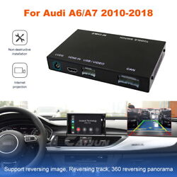 Wireless Carplay Decoder Box For A6 A7 2010-2018 Apple Android Auto Interface