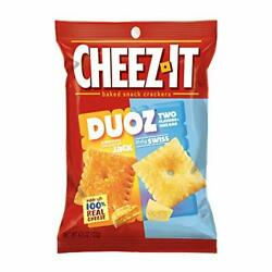 Cheezit Duoz Cheddar Jack Baby Swiss Pack Of 6