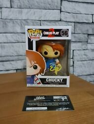 Childs Play 2 - Chucky Funko Pop 56 Signed With Authentication, New Mint