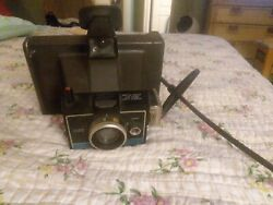 Vintage Polaroid Colorpack Ii Land Camera Cold Clip Wrist Strap Untested