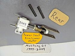 Mar 1999-2004 Ford Mustang Driver Power Seat Motor Rear Rise Lower Actuator Part