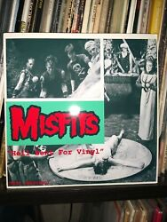 Misfits 7 Hell Bent For Vinyl Test Press 1 Of 30 Lathe Cut 45 Rpm Very Rare