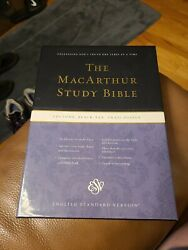 Macarthur Study Bible 2012 Bonded Leather New In Box