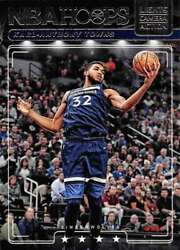 2018-19 Panini Hoops Lights Camera Action 15 Karl-anthony Towns Timberwolves