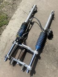 Honda Atc 350x Complete Forks With Brake Assembly