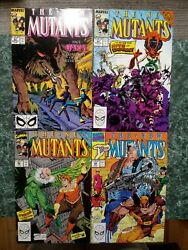 New Mutants 82, 84, 86, 94 [lot Of 4] Key 1st Cable Cameo Vf/nm, Nm, Vf+, Nm