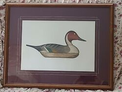 1925 Arthur Nevin Signed Prints Of Pintail Hen And Drake Matching Print Numbers