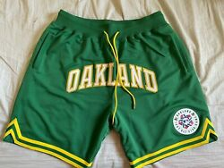 Just Don Oakland Athletics Home Run Derby Shorts Xl Brand New [100 Authentic]