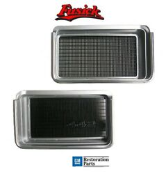 1971 Oldsmobile Cutlass 442 Grille Set Pair 71 Olds