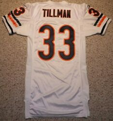 Chicago Bears Charles Tillman Authentic Game Cut Jersey 2004 Chicago Bears 04-46