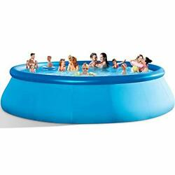 Inflatable Swimming Pools Above Ground - 14ft X 33in❤blow Up Full-sized Round
