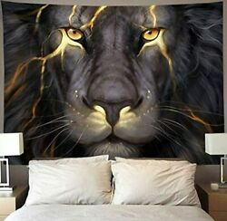 wall tapestry large hanging decoration home art mandala poster painting lion