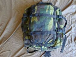 Navy Seal Army Sf Military Surplus Usia Woodland Camo Backpack Dive Gear Bag Gi