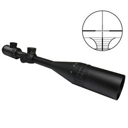 Trinity 10-40x50 Rifle Scope + Ring Mounts Fits .22 Ruger Precision Rifle