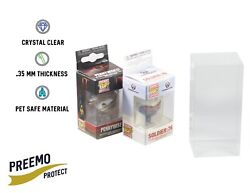 Funko Pocket Pop Keychain Protectors - Acid Free - Crystal Clear - 5 To 50 Pack