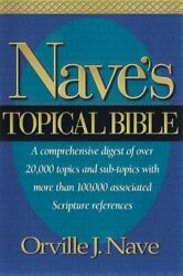 Nave's Topical Bible-kjv By Orville J Nave New