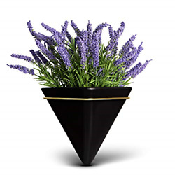 Trivium Wall Planters with Artificial Plants Included Hanging Wall Planters for