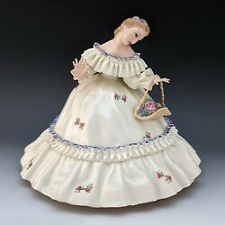 Lenox China Vintage Mistress Mary Incredibly Thin And Delicate Features Figurine