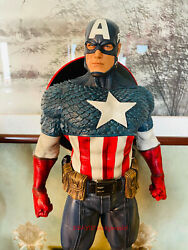 Personal Tailor The Avengers Captain America 1/3 Statue Figures In Stock New