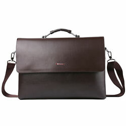 Luxury Leather Laptop Shoulder Bag Briefcase For 13.5quot;Microsoft Surface Laptop 4 $37.04