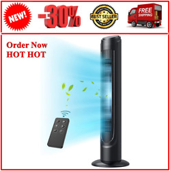 Oscillating Sugoal Fan 90 Tower Remote Modes Fans Quiet 12h 12 Cooling