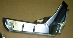 1970-72 Chevelle Trunk Floor Drop Off Extension Panel Left Side Usa Pan Ch79l