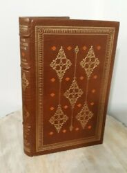 The Walnut Door John Hersey Franklin Library Leather Bound Book 1st Ed 1977