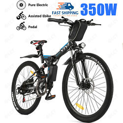 26and039and039 Electric Bike Mountain Bicycle Ebike Shimano 21speed 36v Li-battery 4types