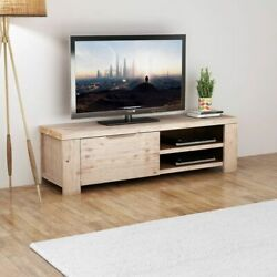 Wood Tv Stand Gaming Consoles Table Cabinet Shelf Storage Living Room Furniture