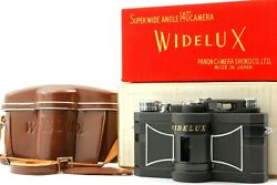 【near Mint+ W/case In Box】panon Widelux F8 35mm Panoramic Film Camera From Japan