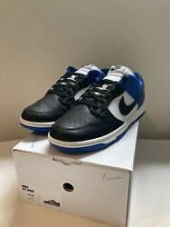Nike Dunk Low Id By You Fragment / Royal Black Toe Size 10.5 Brand New