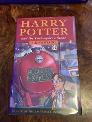 Harry Potter And The Philosopherand039s Stone 1st Edition 1st Print Book Rare Ts Hb