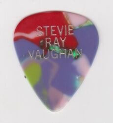 Stevie Ray Vaughan Personal Tour Issued Guitar Pick From Jeff Beck Tour 1989