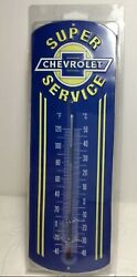 Super Chevrolet Service Thermometer Cool Looking Man Cave Game Room Shop Gmc Gm