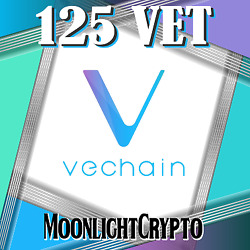 125 Vechain - Vet Crypto Mining-contract Cryptocurrency Virtual Coin