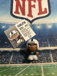 Nfl Teenymates Series 9 Silver Ed. Phillip Rivers 1st Colts Uni. + Card Retired