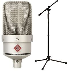 Neumann Tlm 49 + On-stage Stands Ms9701tb+ Heavy-duty Tele-boo... - Value Bundle