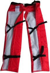 Tsumura Chainsaw Protective Chaps Tc-100 Orange Coller Japan Protective Trousers