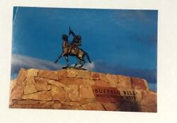 Post Card Buffalo Bill Historical Center Cody Wyoming Bronze Sculpture The Scout