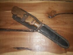 Antique World War 2 Theatre Made / Hand Made Fighting Knife