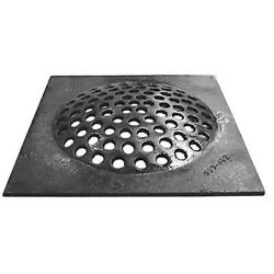 Cast Iron Grate Drain 12 X 12 Inch Cesspool Square Durable Easy To Install Part
