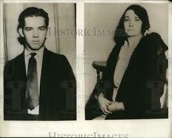 1931 Press Photo George R. And Mother E.a. Johnson Who Turned Son Over To Police