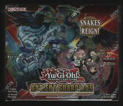 Yu-gi-oh Ancient Guardians Factory Sealed Booster Box 24 Packs Yugioh English