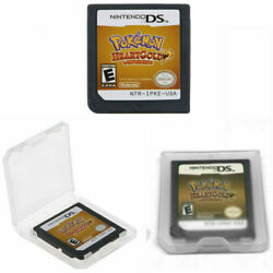 Pokemon Heart Gold Soul Silver Version Game Card For Nintendo 3ds Ndsi Nds