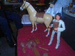 Vintage Johnny West's Geronimo With Thunderbolt And Accessories