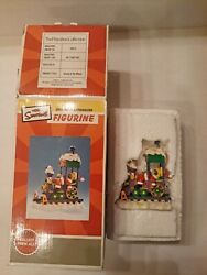 The Simpsons 2003 Christmas Express Collection Homer Asleep At The Wheel Train