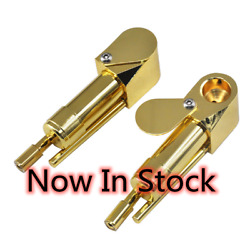Straight Brass Tobacco Smoking Proto Pipe Hole With Trap Us Seller